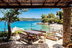 Vier Schlafzimmer Steinhaus mit Strandlage und Privatstrand - Vela Luka Dubrovnik, Bergen, Portugal, Wellness, Outdoor Decor, Home Decor, Patio, Travel Agency, Parking Space