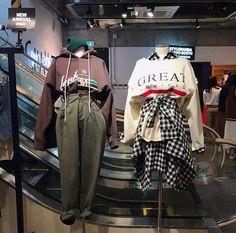 #stylenanda B Fashion, Ulzzang Fashion, Korea Fashion, Fashion Outfits, Womens Fashion, Stylish Outfits, Cool Outfits, Korean Street Fashion, Korean Outfits