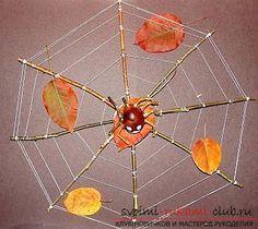 Осенние поделки в школу. Фото №1