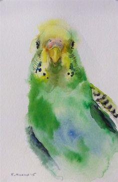 Katya Minkina WATERCOLOR #watercolor jd