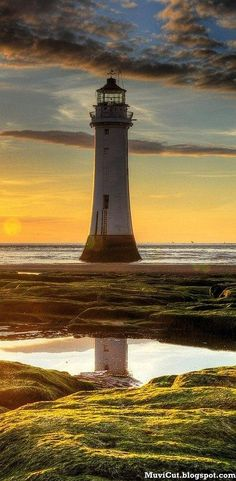 Lighthouse/reflection