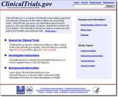 ClinicalTrials.gov: A Searchable Registry and Results Database of Publicly and Privately Supported Clinical Studies of Human Participants Conducted Around the World - National Institutes of Health