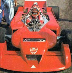 Lauda testing Alfa 177 - 1978