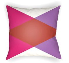 20 Moderne Pillow in Pink, Red & Purple
