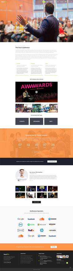 Set up a modern website for your conference or event in no time with Startit WordPress theme! Agile User Story, User Centered Design, Types Of Technology, Disruptive Innovation, Corporate Strategy, App Landing Page, Modern Website, Create Your Website, Long Shadow