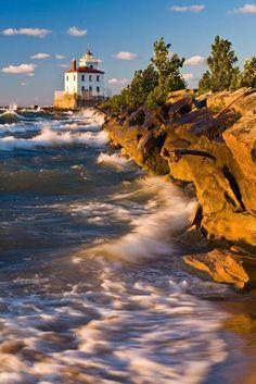 Mentor Headlands Beach, Ohio, USA