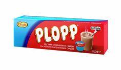 "Cloetta Plopp Hot Chocolate 10 Coffee Capsules "" Caffitaly "" Made in Sweden"