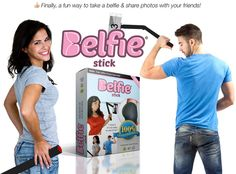 BelfieStick Helps You Take Your Perfect Butt Selfie