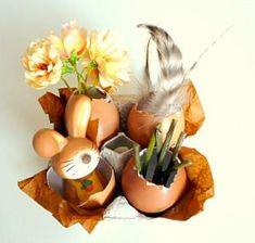 ehrfurchtiges deko ideen zu ostern niedliche haeschen und bunte eier kühlen bild oder cbbfdadcdd
