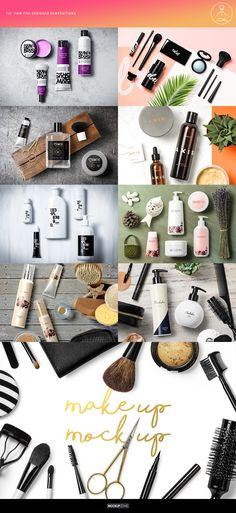 Cosmetic Packaging Branding MockUp  by Mockup Zone on @creativemarket