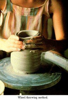 Wheel throwing- ceramics