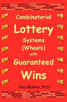 Explore the top 10 'combinatorial lottery systems wheels with guaranteed wins' products on PickyBee the largest catalog of products ideas. Find the best ideas carefully selected for you. Lottery Wheel, Lottery Book, Lottery Strategy, Lottery Tips, Lottery Games, Lotto Lottery, Winning Lottery Numbers, Lotto Numbers, Lottery Winner