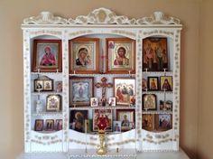 Домашние иконостасы, полки под иконы, киоты, аналои, предметы интерьера - Домашние иконостасы, полки под иконы, киоты, аналои, предметы интерьера.
