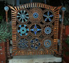 a garden gate in bolinas by pete@eastbaywilds.com, via Flickr