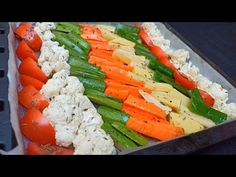 (38) Je n'ai jamais goûté de Légumes aussi délicieusement‼️ RECETTE DE LÉGUMES RÔTI AU FOUR 🔝👌 - YouTube Roasted Vegetable Recipes, Roasted Vegetables, Vegan Sweets, Sweets Recipes, Breakfast Smoothies, Oven Roast, Allrecipes, Asparagus, Vegetarian Recipes