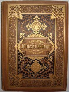 BIBLIOTYPES: La Tipografía de Julius Klinkhardt