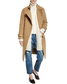 Trench,+Cardigan,+Sweater+&+Jeans+by+Vince+at+Neiman+Marcus.