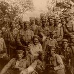 Old photo from First Wold War (about year 1918)
