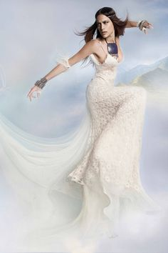 Venice Dress by Victoria KyriaKides Futuristic Grecian Bridal Collection. www.VictoriaKyriaKides.com #weddingdress #bridaldress