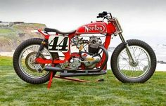 Norton! flat track by CR Axtell