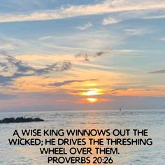 Proverbs 20, Scripture Pictures, Wicked, Outdoor, Outdoors, Outdoor Games, The Great Outdoors