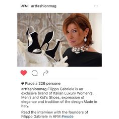 Interview with Alessandra Tonelli, Art Director of Filippo Gabriele on artfashionmag.com  http://www.artfashionmag.com/filippo-gabriele/  #FilippoGabriele #artfashionmag #FilippoGabrielelifestyle #luxury #shoes #heels #highheels #sandals #cage #trend #fashion #art #fashionable #footwear #fashionista #fblogger #glam #moda #newcollection #style #stylish #colors #outfit #photooftheday #model #instadaily #shoelover #girl #beauty