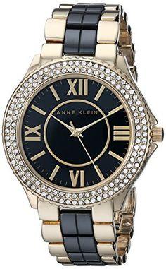 Anne Klein Women's AK/1808BKGB Swarovski Crystal-Accented Two-Tone Watch, http://www.amazon.com/dp/B00LBK18K4/ref=cm_sw_r_pi_awdm_xXQSub0EX8ZQF