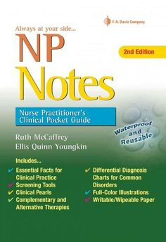 Awarded first place in the 2014 AJN Book of the Year Awards in the Adult Primary Care category! A Davis's Note Book! Thoroughly revised to reflect the most up to date information, the 2nd Edition of t