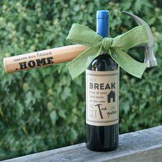 Hammer & Wine Housewarming Gift