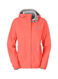 Coral North Face jacket: waterproof Free Shipping at http://studentrate.com/itp/get-itp-student-deals/The-North-Face-Student-Discounts--/0