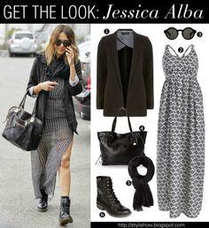 Get the look Jessica Alba  #lookforless #style