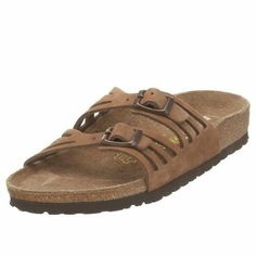 Women's Birkenstock GRANADA Fashion Slide Sandals Now for 106.76. Cork. Cork sole. Heel measures approximately 0.5. Arch Support. Adjustable. Molds to the feet. Original Birkenstock footbed
