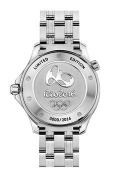 Omega Seamaster Diver 300m, Copacabana Beach, Bezel Ring, Rio Olympics 2016, Game Logo, Rio 2016, Wave Pattern, Olympic Games, Michael Kors Watch