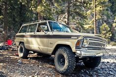 Expedition Wagoneer. Nice cheese grater grill. 265391_10151140156983346_1052172171_o.jpg Photo by MadMaxima | Photobucket