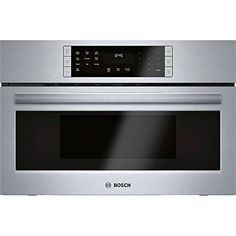 The Highest Quality and Performance for Stainless Steel Microwave Ovens. This Built-In Microwave Design is Matched for Use in Combination with Bosch Wall Oven. Built-In Microwave Design Matched for Use in Combination with Bosch Wall Oven