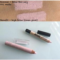 Rimmel dupe for Benefit High Brow