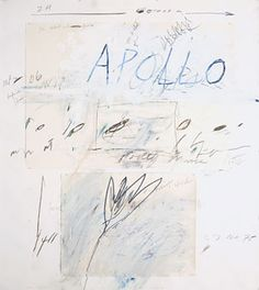 Cy Twombly, Apollo and the Artist