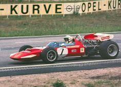 1970 Hockenheim Team Surtees TS7 John Surtees