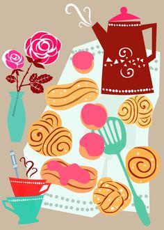 Buns, Coffee and Romance | por Sevenstar aka Elisandra