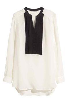 Camicetta in seta | H&M