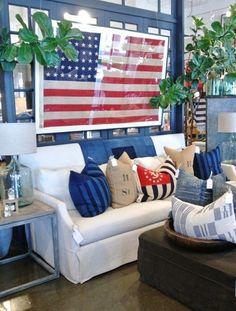 ciao newport beach decor americana living roomsamericana home - Americana Home Decor