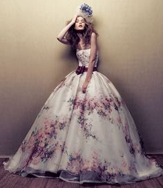 Gorgeous Printed Gown