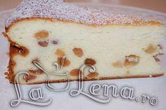 Romanian Food, Romanian Recipes, Easter Pie, Fabulous Foods, Vanilla Cake, Cheesecake, Goodies, Food And Drink, Cooking Recipes