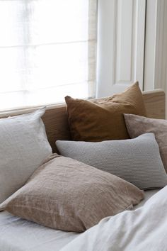 Soft linen bedding |