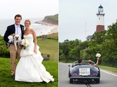 Montauk lighthouse wedding!