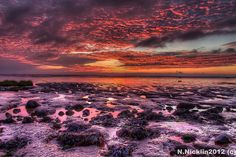 Kilnsea Sunset, via flickr