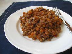 Szybkie gotowanie: Potrawka z zielonej soczewicy z suszonymi pomidorami