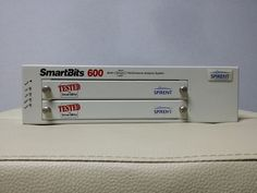 Spirent SmartBits SMB-600 Chassis, 2 slots  Firmware ver 2.8 #spirent