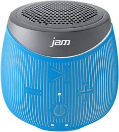 JAM - DoubleDown Portable Bluetooth Speaker - Blue, HX-P370BL
