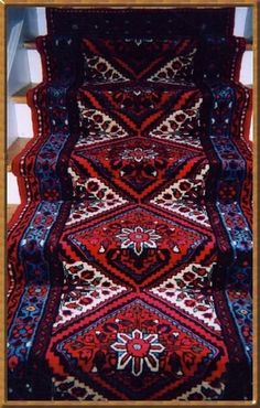 Love The Carpet Runners For Stairs, Tree House Plans, Stair Carpet, Runner  Rugs